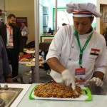 Food Africa 2017 - Live coocking